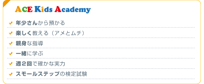 ACE Kids Academyが目指すそろばん教室